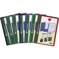 EXACOMPTA CARPETA DE 30 FUNDAS PP FLEXIBLE. FUNDAS PERSONALIZABLES.COLOR SURTIDO.REFERENCIA 5730
