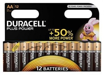 BLISTER 12 PILAS DURACELL POWER+ AA LR6