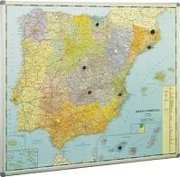 FBO MAPA ESPAÑA MAGNETICO103X129 153