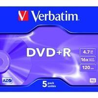 DVD+R 16x Advanced AZO 4,7GB JC 5 uds