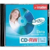 IMATION 10 CD-RW 4-10X JEWEL CASE REF. 19002 CANON LPI INCLUIDO