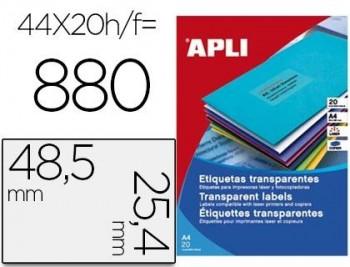 APL B20H ETIQ TRANSP.POL48.5X25.4 01223