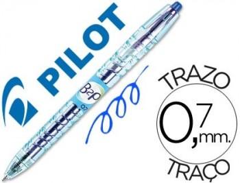 BOLIGRAFO PILOT B2P RETRACTIL AZUL