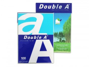 PAQUETE 100 HOJAS DOUBLE A A4 80GR