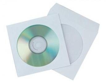 SOBRE CD PAPEL125X125 C/VENTANA 50U.