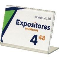 ARC EXPOSITOR PORTAPRECIOS SOBR.6150CSTP