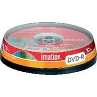 IMA PACK 10 DVD-R IMATION 4,7GB/120MIN