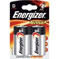 ENERGIZER BLISTER 2 PILAS ULTRA PLUS LR20D REF. 624682