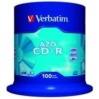 CD Super AZO 52x 700 MB Spindle 100 uds - Crystal