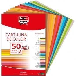 CARTULINA DINA3 180GR (50U)