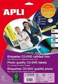 APL B10H ETIQ CD GLOS DIAM117 10328