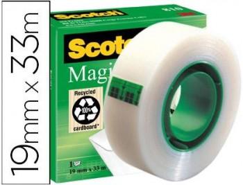CINTA  INVISIBLE SCOTCH MAGIC 810