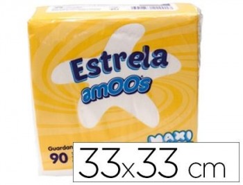 SERVILLETA BLANCA CELULOSA 2C 33x33 100U.