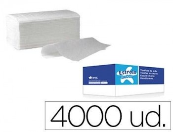 TOALLAS SECAMANOS 2C 21x22 CAJA 20 PAQ.200U.(4000)